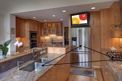 Kitchen triangle design case san jose - Kitchen design triangle ...