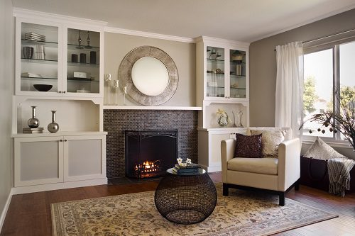 Remodel your fireplace and change the look of your room plus improve heating efficiency. Case San Jose craftsmen explain several methods to update a fireplace.