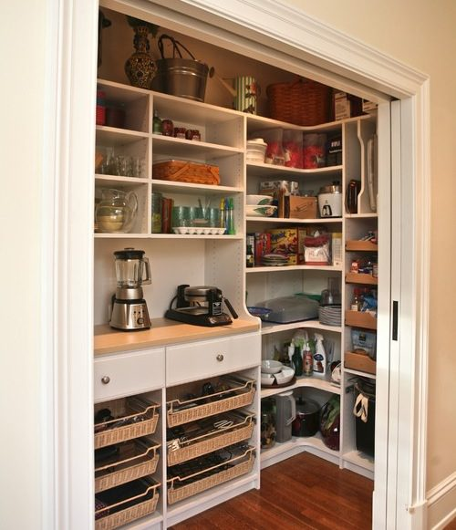hidden kitchen pantry ideas