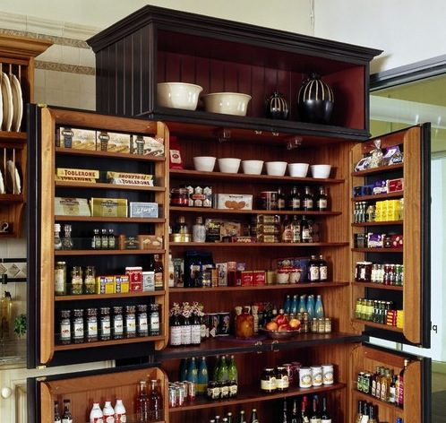 Captivating Kitchen Pantry Designs
