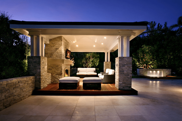 Outdoor living space ideas case san jose for Outdoor living space plans