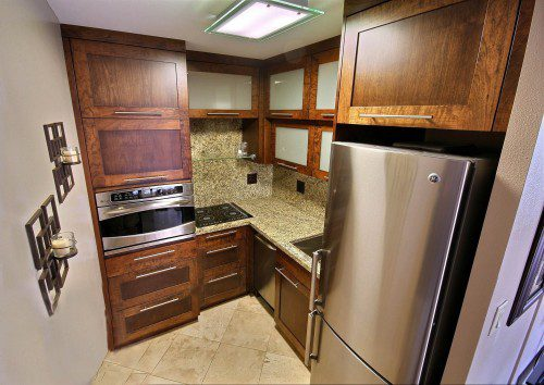 Remodeled Small Kitchen