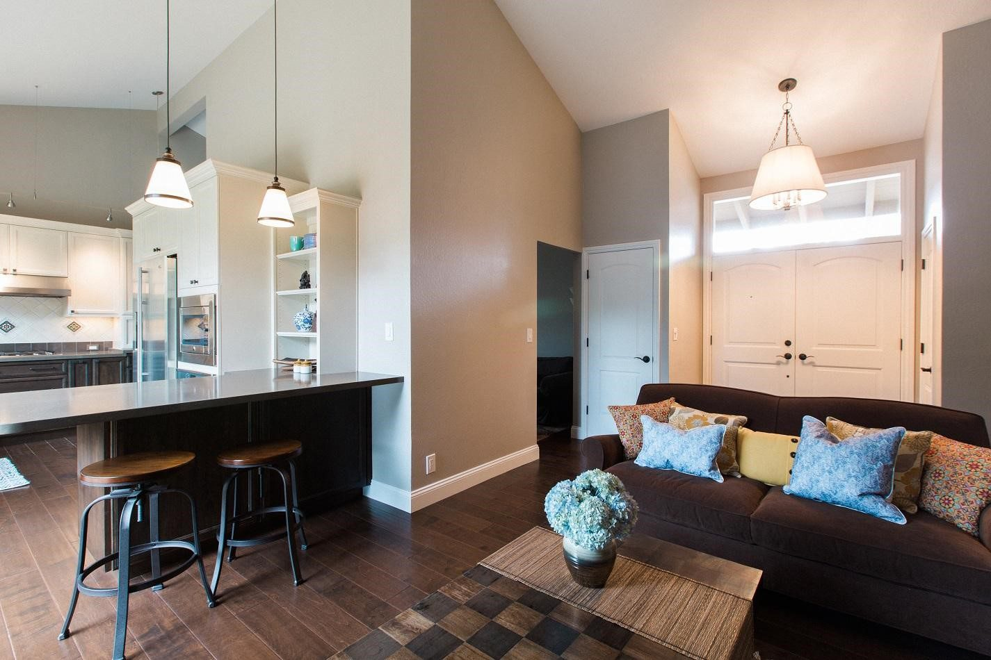 Decor Ideas for Open Floor Plans   Case Design/Remodeling ...