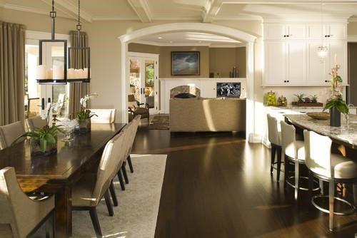 Decor Ideas For Open Floor Plans Case San Jose - Open layout floor plans