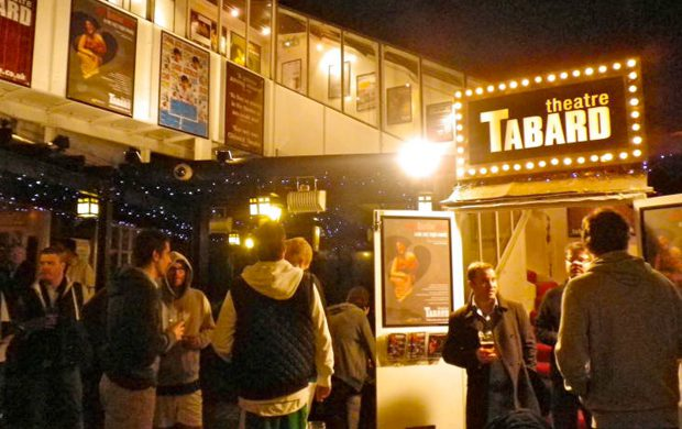 Case Builds New Stage For Tabard Theatre Case Design