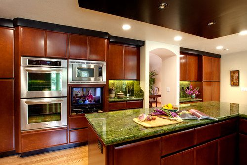 if the kitchen cabinets are the box the countertop is the wrapping that finishes the look we wrote an article on countertop choices which will help you - San Jose Kitchen Cabinet